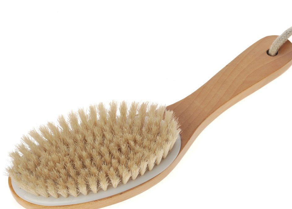 dry brush for massage